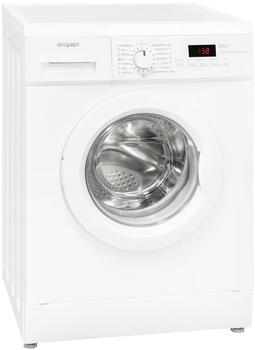 GGV-Exquisit WA 7014-3.1 Stand-Waschmaschine-Frontlader weißA+++
