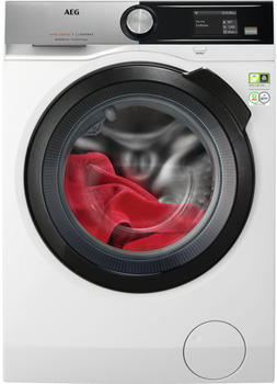 AEG L9FS96699 Waschmaschine 9kg 1600U/min A+++ Frontlader Aqua Control System (Edelstahl, Weiß)