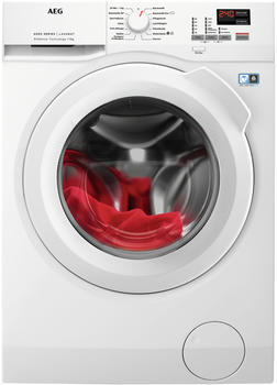 AEG Waschmaschine L6FBA494, 9 kg, 1400 U/Min weiß
