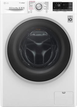 LG Waschmaschine F 14WM 8TT1, 8 kg, 1400 U/Min weiß,