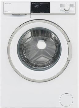 Sharp Waschmaschine ES-HFB9143W3-DE, 9 kg, 1400 U/Min weiß,