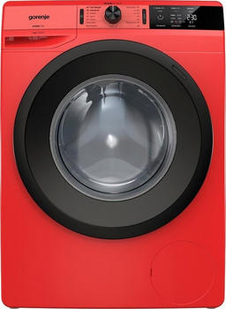 Gorenje Waschmaschine WE74S3PR, 7 kg, 1400 U/Min rot,