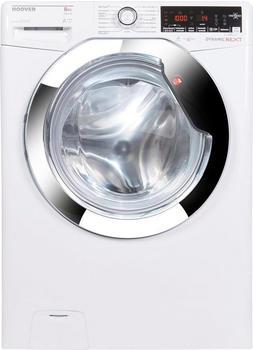 Hoover Waschmaschine AOXD G58AHC7-84, 8 kg, 1500 U/Min weiß,