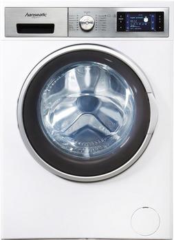 Hanseatic Waschmaschine HWM 914 A3DT, 9 kg, 1400 U/Min weiß,