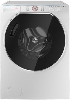 Hoover AWMPD 410LH8/1-S Waschmaschine Freistehend Frontlader Weiß 10 kg 1400 U/Min., in Weiß/Anthrazit-Chrome
