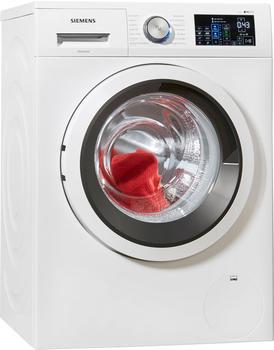 Siemens Waschmaschine iQ500 WM14T641, 8 kg, 1400 U/Min, i-Dos Dosierautomatik weiß