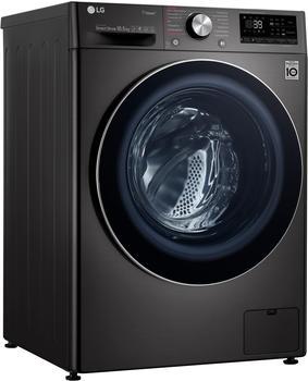 LG Waschmaschine 9 F4 WV 910P2, 10,5 kg, 1400 U/Min schwarz