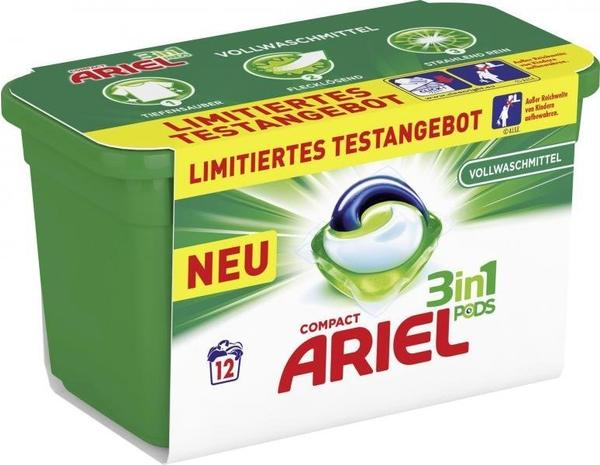 Ariel Compact 3in1 Pods 12 Vollwaschmittel Limited