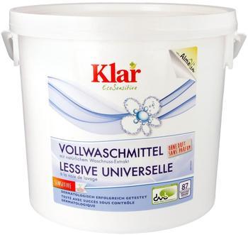 AlmaWin Klar Vollwaschmittel Pulver (4,4 kg)