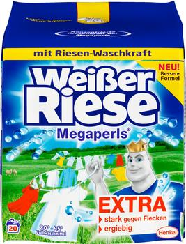 Weißer Riese Vollwaschmittel Megaperls 1,35 kg 20 WL