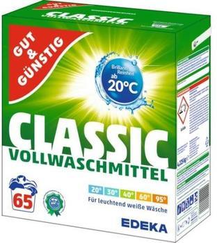 Gut & Günstig Classic Vollwaschmittel