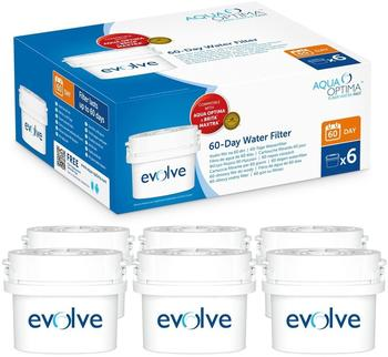 Aqua Optima Evolve 12-Wasserfilter 6 Stück