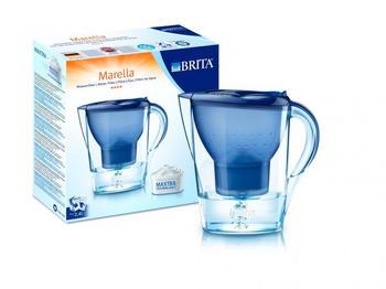 BRITA Marella Cool Blau + 12 Kartuschen