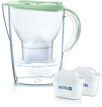 BRITA Marella Wasserfilter 2x MAXTRA+ pastellgrün 106645