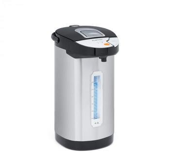 Klarstein Hot Spring Heißwasserspender 4,2 L silber