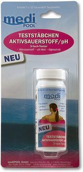 mediPOOL Teststäbchen Sauerstoff/pH - 50 Stk. (502010804MB)