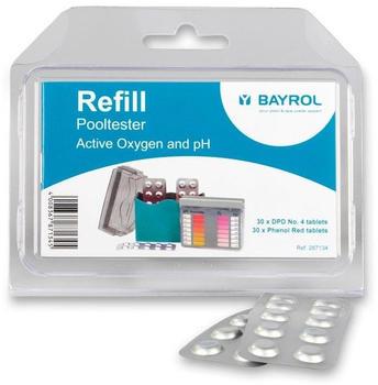 Bayrol Nachfüllpack für Pooltester Sauerstoff/pH 30 Tabletten (287134)