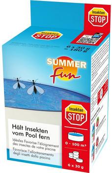 Summer Fun Insekten-Stop für Schwimmbecken/Pool 6 Stk.(8000015SF)