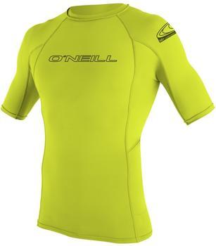 O'Neill Skins Short Sleeve Crew lime
