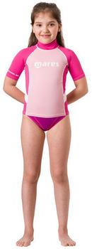 Mares Rash Guard Junior SHort Sleeve Girl (412507) pink