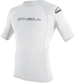 O'Neill Rash Guard Basic Skins Crew S/S white
