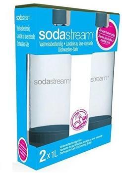 SodaStream PET-Flasche Duo-Pack schwarz (2 x 1 Liter)
