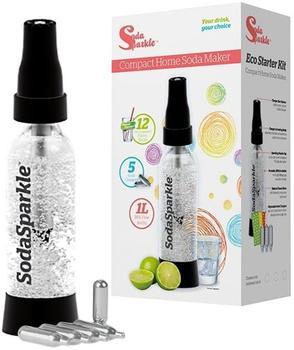 Soda Sparkle Starter Set + Flasche + CO2 Kartuschen