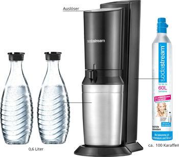 sodastream-crystal-20-titan-mit-2-glaskaraffen-zylinder