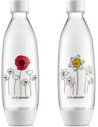 Sodastream SodaStream Flasche FUSE Blumen im Winter 2x1l