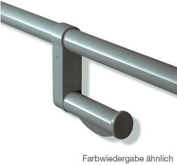 Hewi Serie 801 WC-Papierhalter für Stangensysteme anthrazitgrau (801.50.010 92)