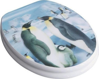 ADOB Pinguin WC-Sitz mit 3D-Dekor