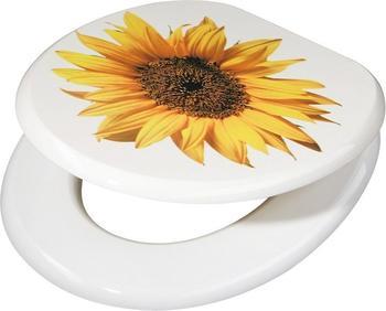 ADOB Sonnenblume WC-Sitz mit Motiv