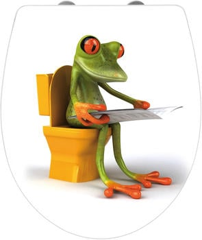 Wenko Hochglanz Acryl Frog News (21758100)