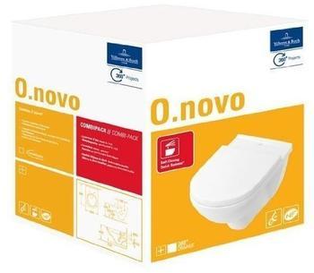 Villeroy & Boch O.novo Compact 36 x 49 cm weiß alpin CeramicPlus (568810R1)