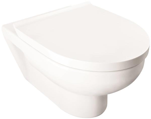 Duravit DuraStyle Basic Rimless 36,5 x 54 cm Set weiß (45620900A1)
