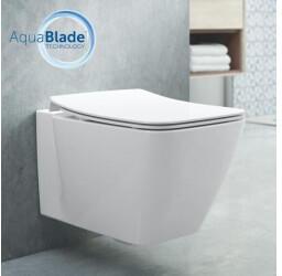 Ideal Standard Strada II Wand-Tiefspül-WC AquaBlade L: 54 B: 36 cm weiß mit Ideal Plus T2997MA