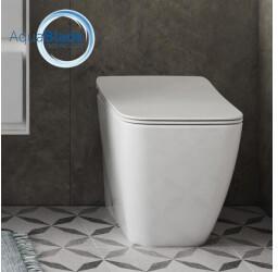 Ideal Standard Strada II Stand-Tiefspül-WC AquaBlade L: 55,5 B: 36 H: 40 cm weiß T296801