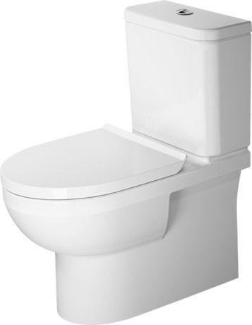 Duravit DuraStyle Basic Rimless 36,5 x 65 cm weiß (2182090000)