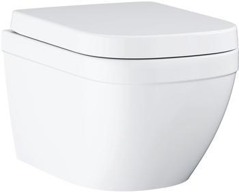 GROHE Euro Keramik Wand-Tiefspül-WC Set L: 54 B: 37,4 cm 39554000