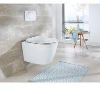 NECKERMANN Wand WC »Vigo«, Toilette spülrandlos, inkl. WC-Sitz mit Softclose weiß