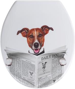 Wenko WC-Sitz Daily Dog Duroplast