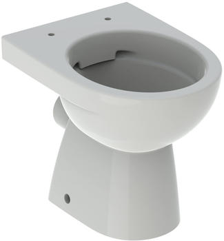 Geberit Renova Stand-Tiefspül-WC 500480002 Abgang horizontal, teilgeschlossene Form, Rimfree, pergamon