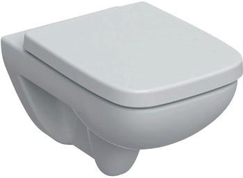 Geberit Renova Plan Set Wand-Tiefspül-WC-Set 501758001 36x54cm, mit WC-Sitz, weiß