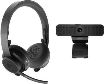 Logitech C925e + Zone Wireless