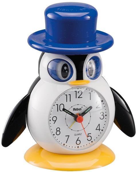Mebus Kinder-Quarzwecker Pinguin (26514)
