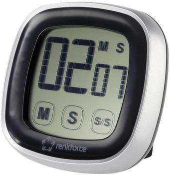 RENKFORCE Timer Jumbo S2023 Schwarz, Silber