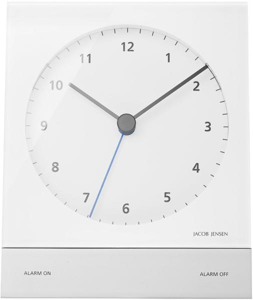 Jacob Jensen Timer Clock weiß 32352