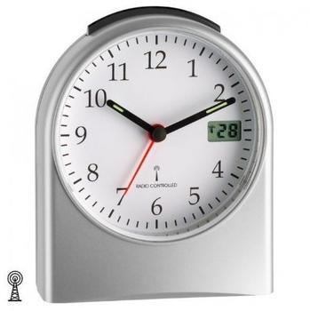 JG Funk-Wecker aus Kunststoff digitale Sekundenanzeige mit Batterie
