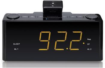blaupunkt-clr-p-1800-bk-uhrenradio-mit-projektion-wecker-aux-in-stereo-pll-fm-lautsprecher-2-weckzeiten-snooze-nap-und-sleep-timer