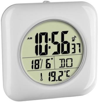 TFA Dostmann Digitale Funk-Badezimmeruhr mit Temperaturanzeige (60.4513.02)